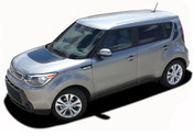SOUL PATCH 2 : Vinyl Graphics Kit Engineered to fit the 2014 2015 2016 2017 Kia Soul - Vinyl Graphics Kit, specially engineered to fit the 2014 - 2015 KIA Soul! Hood graphic and rear panel graphics, it's the look you've been wanting for the Kia Soul!