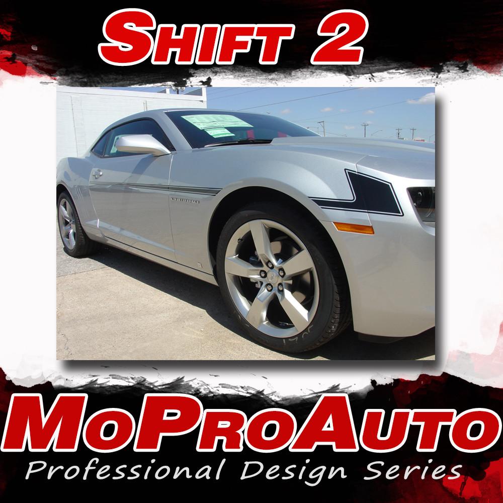 2014 2015 Shift 2 Chevy Camaro Side Vinyl Graphics