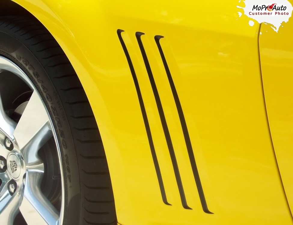 2014 2015 Gills 2 Chevy Camaro Vinyl Graphic Vent Decals Accent Striping Set Fits All