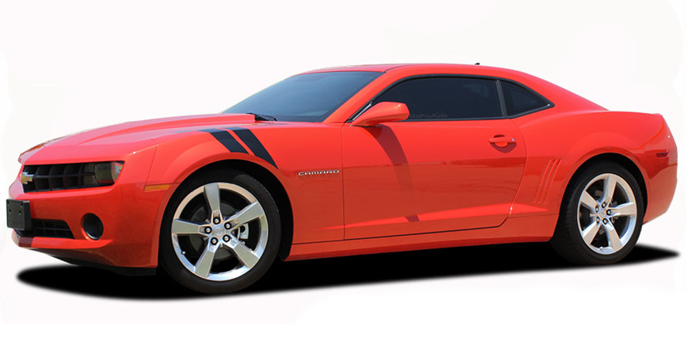 2014 2015 Double Bar 2 Chevy Camaro Quot Lemans Quot Style Fender Hash Stripes Rs Ls Lt Ss