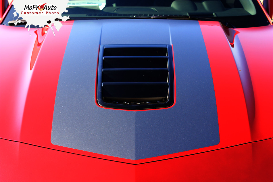 2014 2015 Single Stripe 2 Chevy Camaro Wide Center