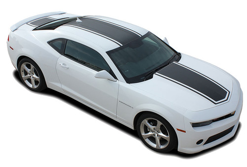2014 2015 Camaro Center Bee Chevy Camaro Wide Center Outline Vinyl Graphics Racing Stripes