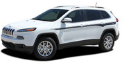 2013 2014 2015 2016 2017 Jeep Cherokee CHIEF Vinyl Graphics Kit! Engineered specifically for the new Jeep Cherokee, this kit will give you a factory OEM upgrade look at a discount price! Pre-trimmed sections ready to install! Fits Jeep Cherokee Upper Body Line Side Rocker Panels . . .