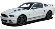 "* NEW Ford Mustang GT/CS ""California Special"" Style Hood and Rocker Panel Stripes Kit! Give a modern muscle car look to your new Mustang that will set your ride apart! Professional Style 3M Vinyl Graphics Kit - Pre-Trimmed and Designed, Ready to Install! For Automotive Restylers and Dealers!"