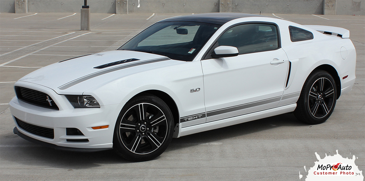 "2013-2014 CALI : Ford Mustang ""California Special"" GT/CS Style Hood and Rocker Panel Stripes ..."