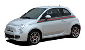 "SE 5 ITALIAN GUCCI STRIPE : ""Gucci Style"" Fiat 500 Abarth Vinyl Graphics Kit Fiat 500 Vinyl Graphics, Stripes and Decal Kit! Gucci Italian Style! Pre-cut pieces ready to install, using only Premium Cast 3M, Avery, or Ritrama Vinyl!"