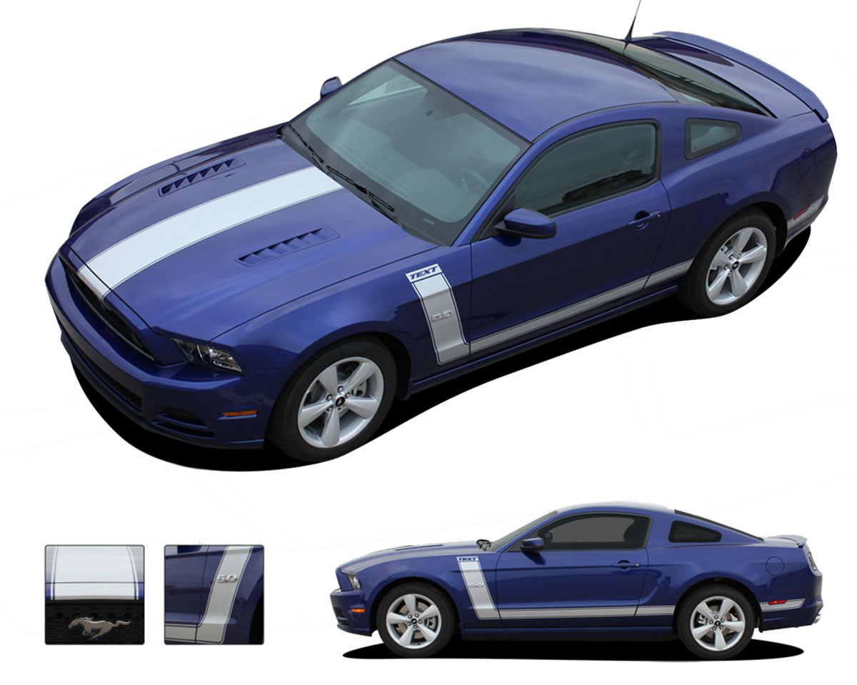 2013 2014 Prime 2 Ford Mustang Quot Boss 302 Style Quot Vinyl