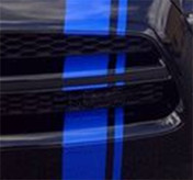 E-RALLY GRILL SECTION ONLY: Vinyl Graphics Kit for Dodge Charger  GRILL KIT for E-RALLY Stripes