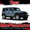 TREK : Jeep Wrangler Side Door Fender to Fender Vinyl Graphics Decal Stripe Kit - Product Ad