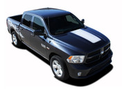 "RAM HOOD : 2009 2010 2011 2012 2013 2014 2015 2016 2017 2018 Dodge Ram Vinyl Graphics Kit! Dodge Ram Hood Vinyl Graphic Kit! Engineered specifically for the new Dodge Ram body styles, this kit will give you a factory ""MoPar OEM Style"" upgrade look at a discount price! Ready to install!"