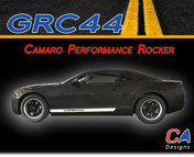2010-2015 Chevy Camaro Performance Rocker Vinyl Stripe Kit (M-GRC44)