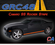 2010-2015 Chevy Camaro SS Rocker Vinyl Stripe Kit (M-GRC48)