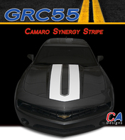 2014-2015 Chevy Camaro Synergy Hood Vinyl Stripe Kit (M-GRC55)