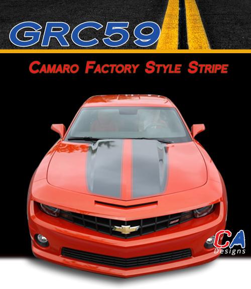 2014 Camaro Silvers: 2014-2015 Chevy Camaro Factory Style Racing Vinyl Stripe
