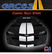 2014-2015 Chevy Camaro Rally Racing Vinyl Stripe Kit (M-GRC63)