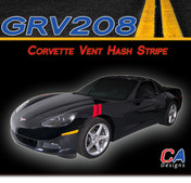 2005-2013 Chevy Corvette Vent Hash Vinyl Stripe Kit (M-GRV208)