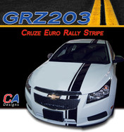 2011-2015 Chevy Cruze Euro Rally Racing Vinyl Stripe Kit (M-GRZ203)