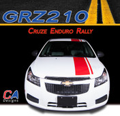 2011-2015 Chevy Cruze Enduro Rally Vinyl Stripe Kit (M-GRZ210)