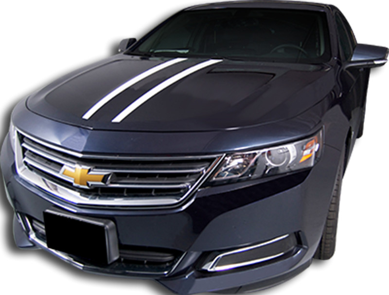 2014 2015 chevy impala hood spears vinyl graphic decal. Black Bedroom Furniture Sets. Home Design Ideas