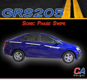 2012-2015 Chevy Sonic Phase Swipe Vinyl Stripe Kit (M-GRS205)