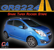 2013-2015 Chevy Spark Taper Rocker Vinyl Stripe Kit (M-GRS224)