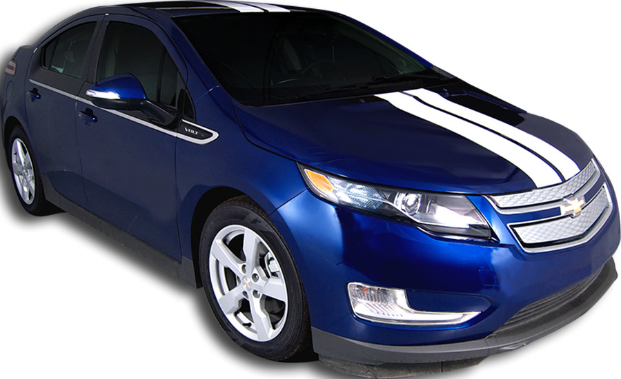 chevy volt vinyl graphics stripes and decals kits and. Black Bedroom Furniture Sets. Home Design Ideas