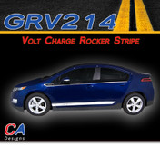 2011-2015 Chevy Volt Charge Rocker Vinyl Stripe Kit (M-GRV214)
