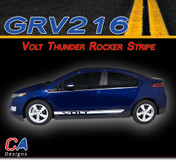 2011-2015 Chevy Volt Thunder Rocker Vinyl Stripe Kit (M-GRV216)