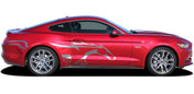 2015 2016 2017 STEED : Ford Mustang Pony Side Horse Vinyl Graphic Stripe Decals * NEW Ford Mustang Graphic Kit! Give a modern muscle car look to your new Mustang that will set your ride apart! Professional Style 3M Vinyl Graphics Kit - Pre-Trimmed and Designed, Ready to Install! For Automotive Restylers and Dealers!
