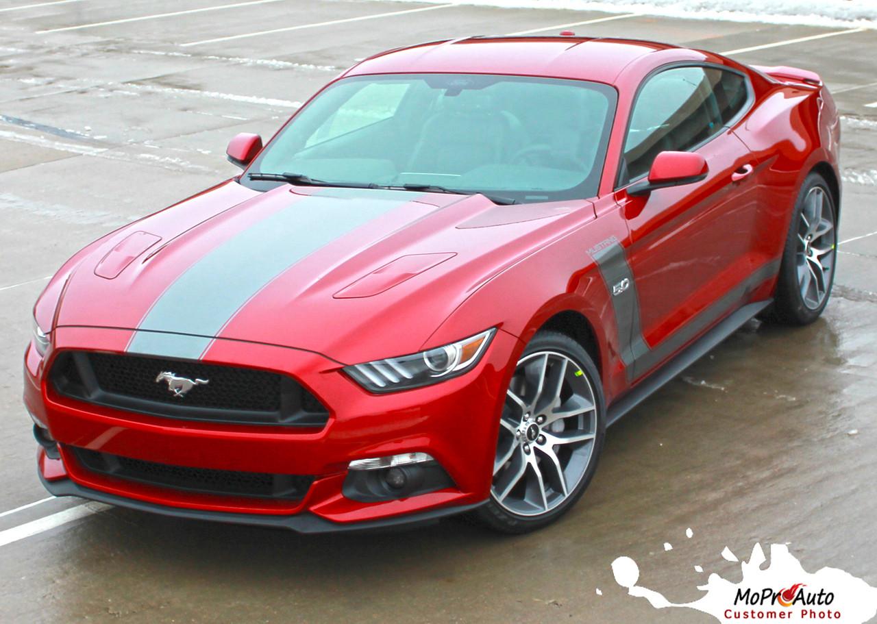 "STELLAR 2015 2016 2017 Ford Mustang ""BOSS"" Style Hood"