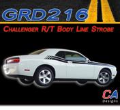 2008-2010 Dodge Challenger R/T Body Line Strobe Vinyl Stripe Kit (M-GRD216)