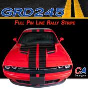 2015 Dodge Challenger Full Pin Line Rally Vinyl Stripe Kit (M-GRD245)