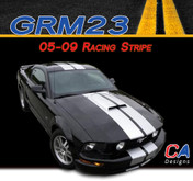 2005-2009 Ford Mustang Racing Stripe Vinyl Stripe Kit (M-GRM23)