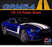 2013-2014 Ford Mustang Power Vinyl Stripe Kit (M-GRM54)