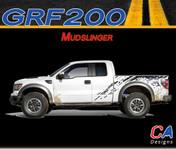 2009-2014 Ford F-150 Mudslinger Vinyl Stripe Kit (M-GRF200)