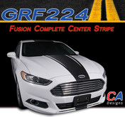 2013-2015 Ford Fusion Complete Center Vinyl Stripe Kit (M-GRF224)