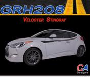 2011-2015 Hyundai Veloster Stingray Vinyl Stripe Kit (M-GRH208)