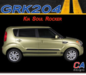 2010-2015 Kia Soul Rocker Vinyl Racing Stripe Kit (M-GRK204)