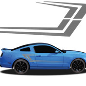MAKO : Automotive Vinyl Graphics and Decals Kit - Shown on FORD MUSTANG (M-919)
