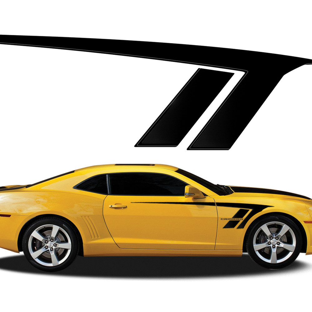 STINGRAY  Automotive Vinyl Graphics And Decals Kit Shown On - Vinyl graphics for a car