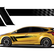 CHAMPION : Automotive Vinyl Graphics and Decals Kit - Shown on HYUNDAI and TOYOTA (M-921)