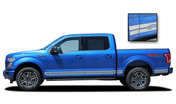 F-150 ROCKER ONE : Ford F-150 Lower Rocker Panel Stripes Vinyl Graphics and Decals Kit for 2015 2016 2017 2018 F-Series Models (M-PDS3524)