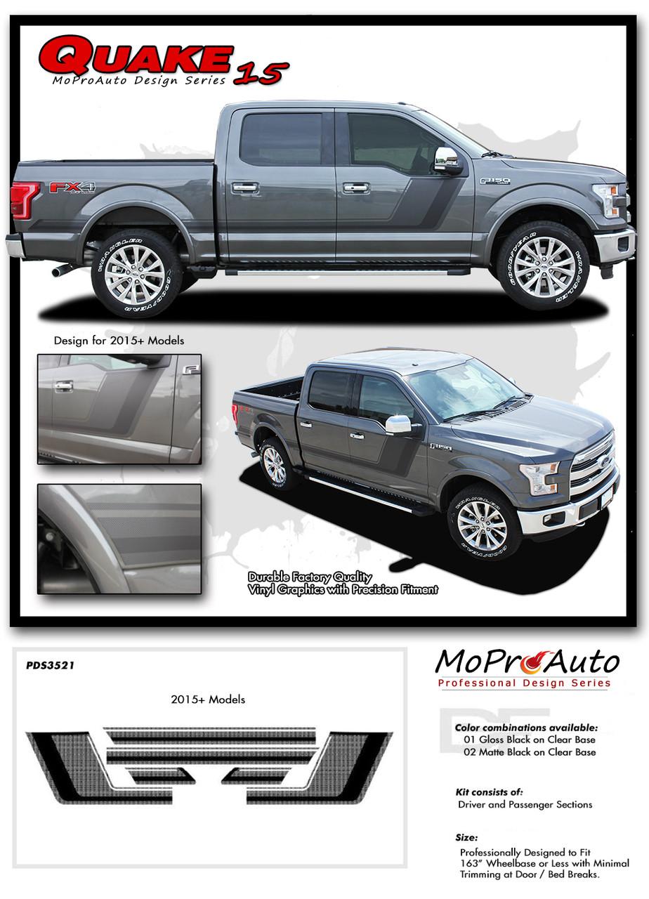 Quake Stripe Ford Truck Autos Post