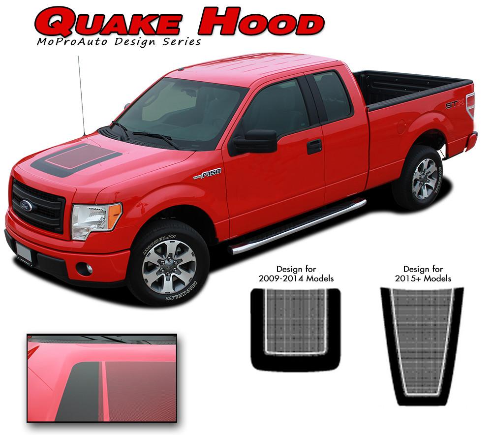 F 150 Quake Hood Ford F 150 Hockey Stripe Tremor Fx Appearance