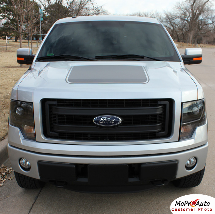 Ford F 150 Screen Printed Appearance Package Hood Vinyl Graphic