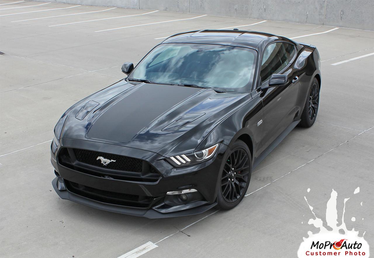 Mega Auto Sales >> MEGA HOOD : 2015 2016 2017 Ford Mustang Wide Center Hood ...