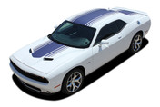 "Challenger SHAKER : Factory OEM ""Shaker Style"" Hood Roof Trunk Vinyl Rally Stripes for 2015 2016 2017 2018 Dodge Challenger (M-PDS3734.39)"
