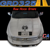 2009-2015 Dodge Ram Hood Stripe Vinyl Striping Graphic Kit (M-GRD325)