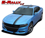 2015 E-RALLY : Euro Style Vinyl Graphics Decal Stripe Kit for Dodge Charger (M-PDS3599)