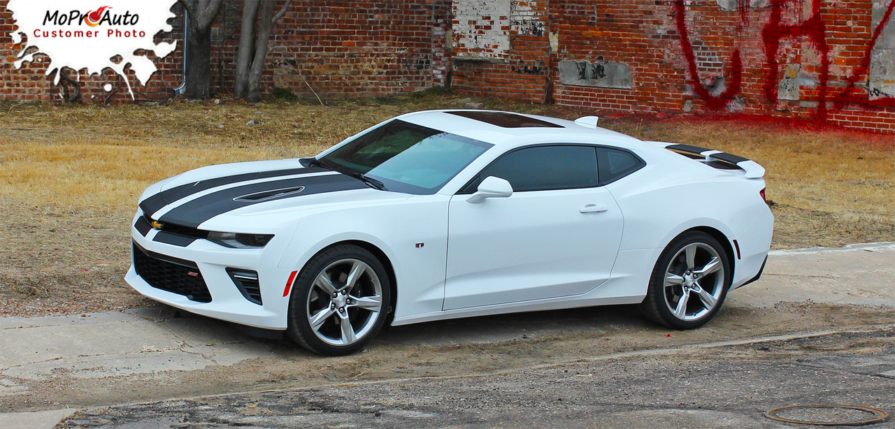2016 2017 2018 Chevy Camaro Vinyl Graphics Racing Stripes
